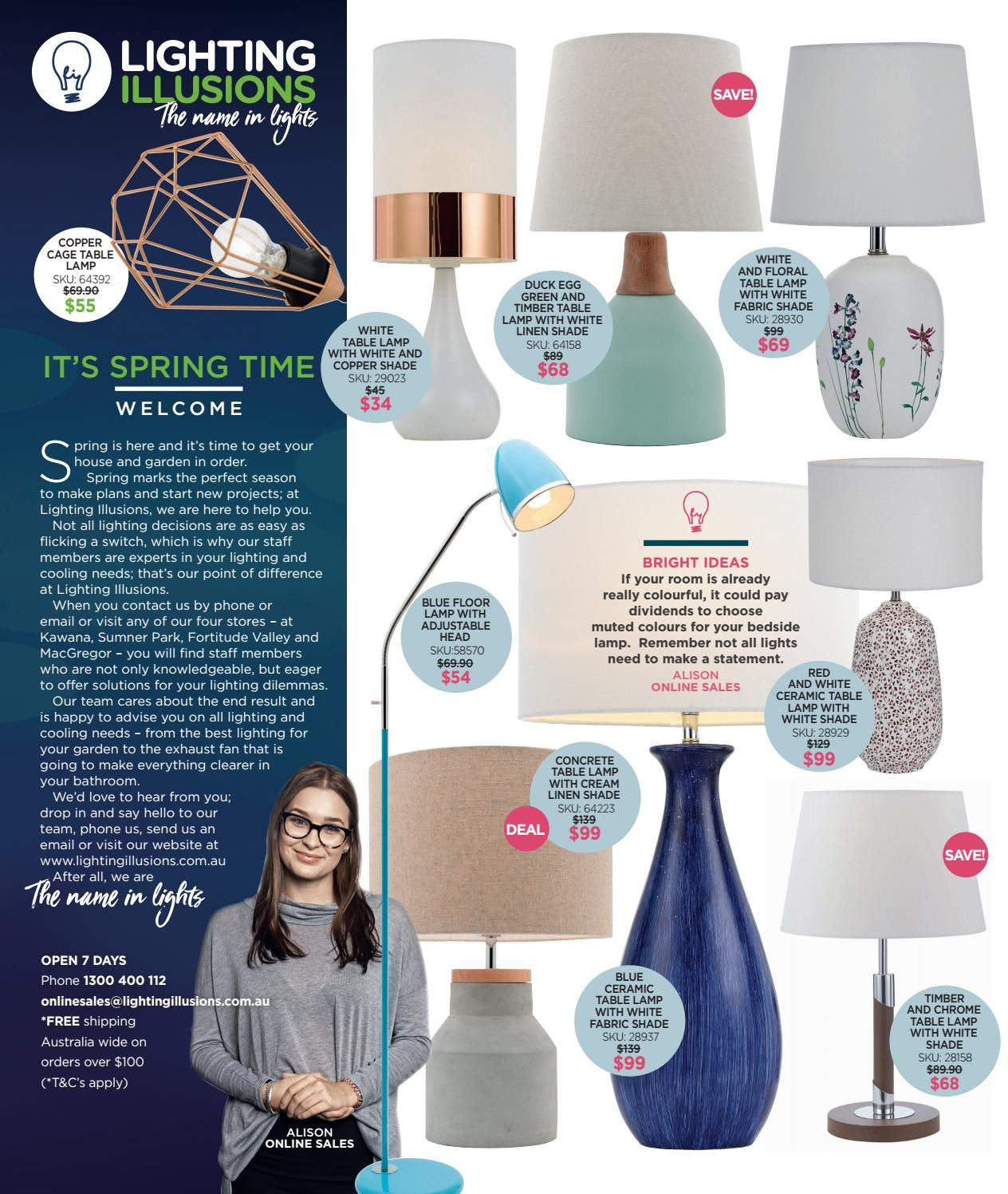 Lighting Illusions Spring Catalogue In 2019