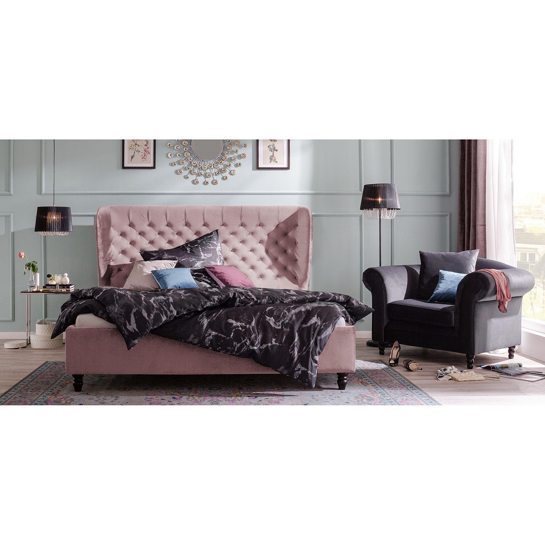 Monroe Velvet Upholstered Bed In 2020 Bettgestell Bett Ideen Schlafzimmer Leinwand