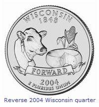 Wisconsin State Quarter Error Page Rare Coins Pinterest - Rare us state quarters