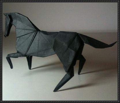 Origami Horse Diagram Free Download Httppapercraftsquare