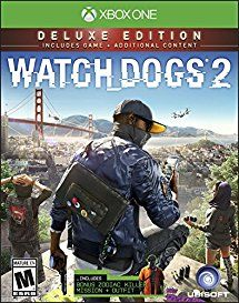 7cb1168ba54 Amazon.com  Watch Dogs 2  Deluxe Edition (Includes Extra Content) - Xbox One   Video Games