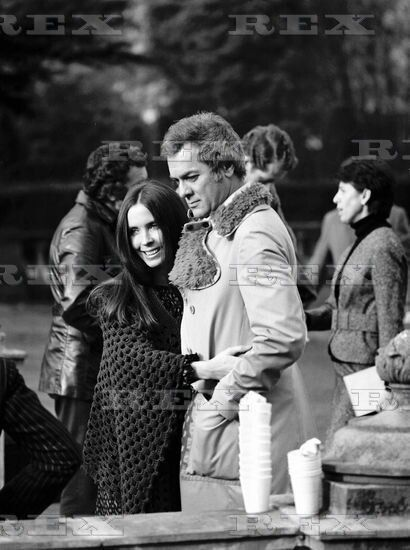 Tony Curtis And Leslie Allen The Persuaders Tony Curtis Leslie