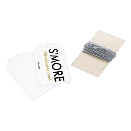 s more celebrations to come engagement party favor gift tags