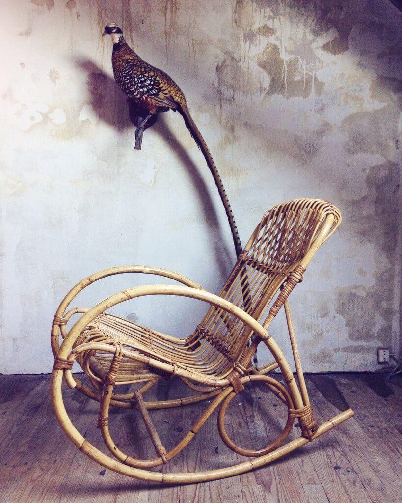 atelier vime rocking chair en rotin d r e a m home. Black Bedroom Furniture Sets. Home Design Ideas
