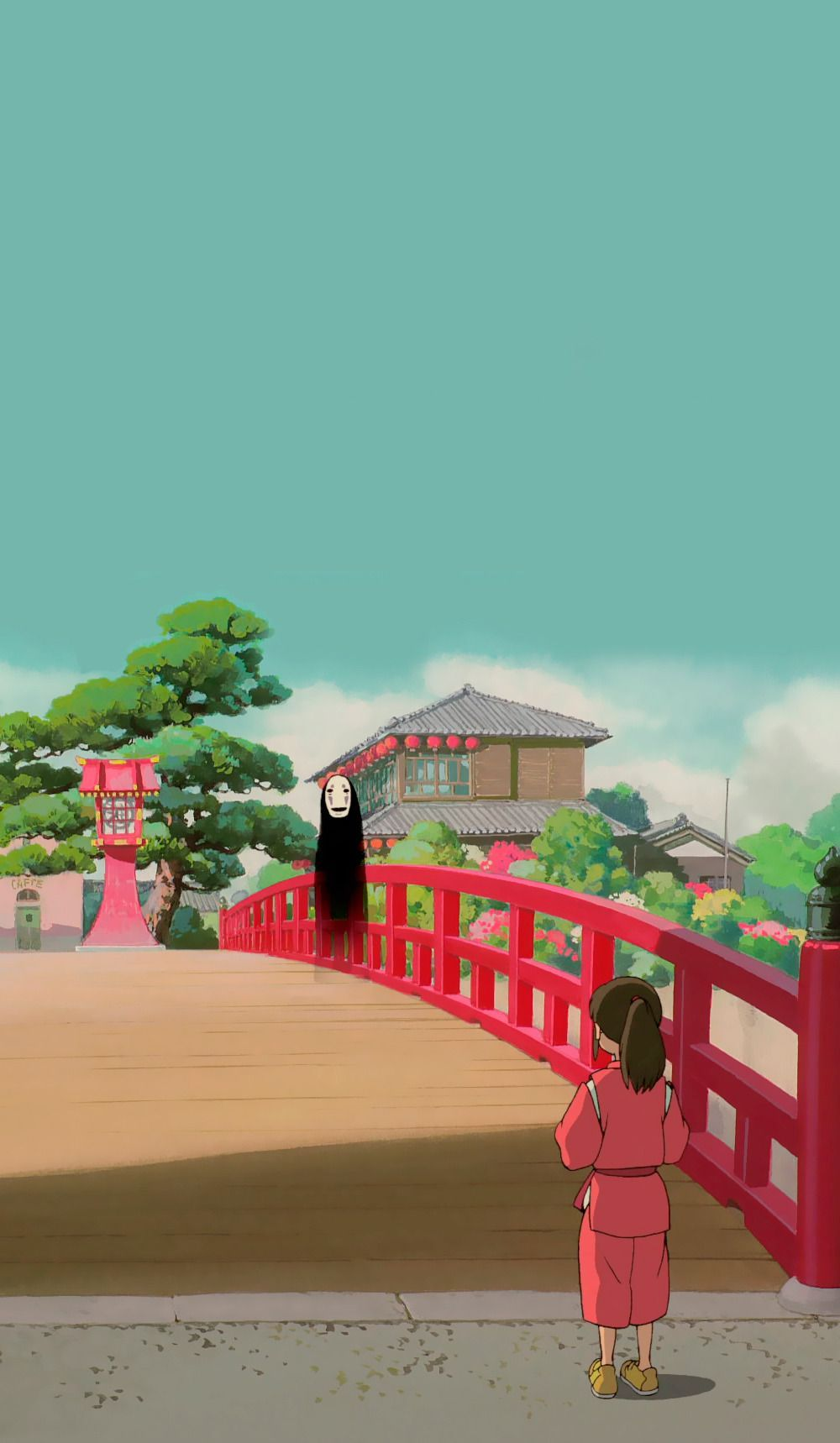 Anime Aesthetic Wallpaper Spirited Away Animecouple Animefacts Animefreak In 2020 Studio Ghibli Spirited Away Anime Scenery Wallpaper Studio Ghibli Background