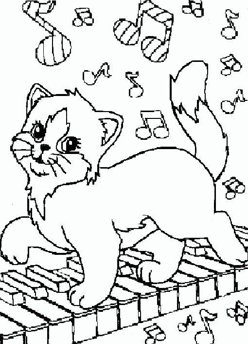 Katzen 5 Ausmalbilder Lustige Malvorlagen Malvorlagen