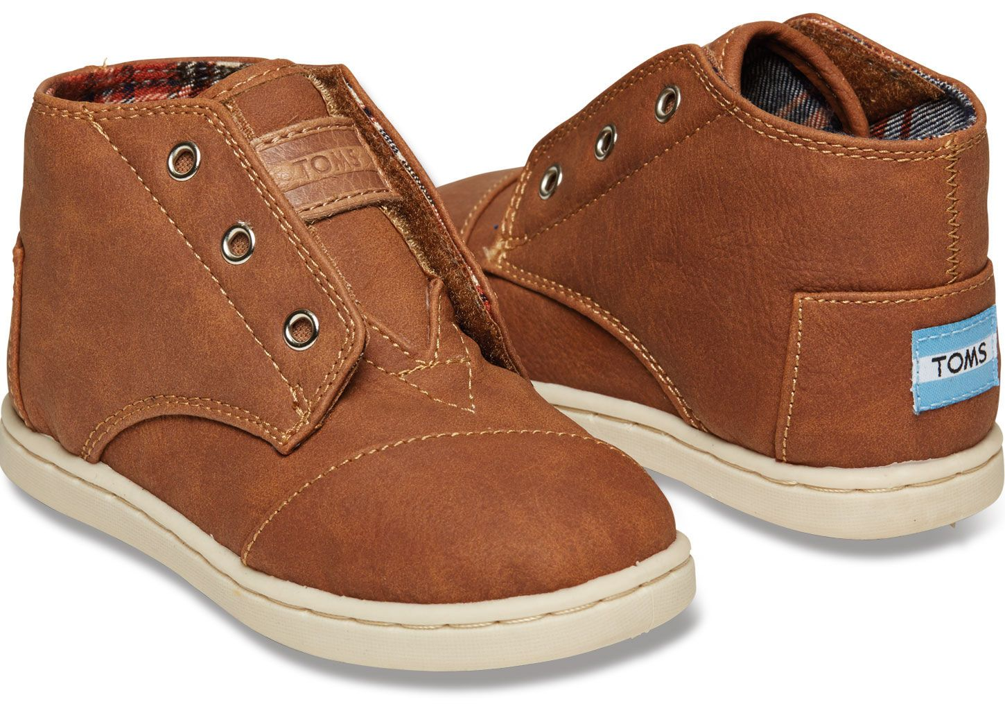782e1ec27e4 Brown Synthetic Tiny TOMS Paseo-Mids SIZE 8- NEED for Winter shoes ...