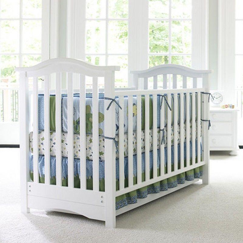 Hudson Classic Crib By Bonavita Shown In Classic White With