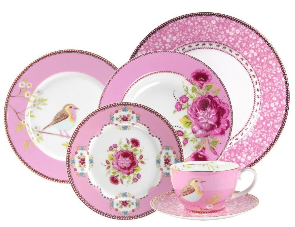 PiP Studio Dinnerware, Pink