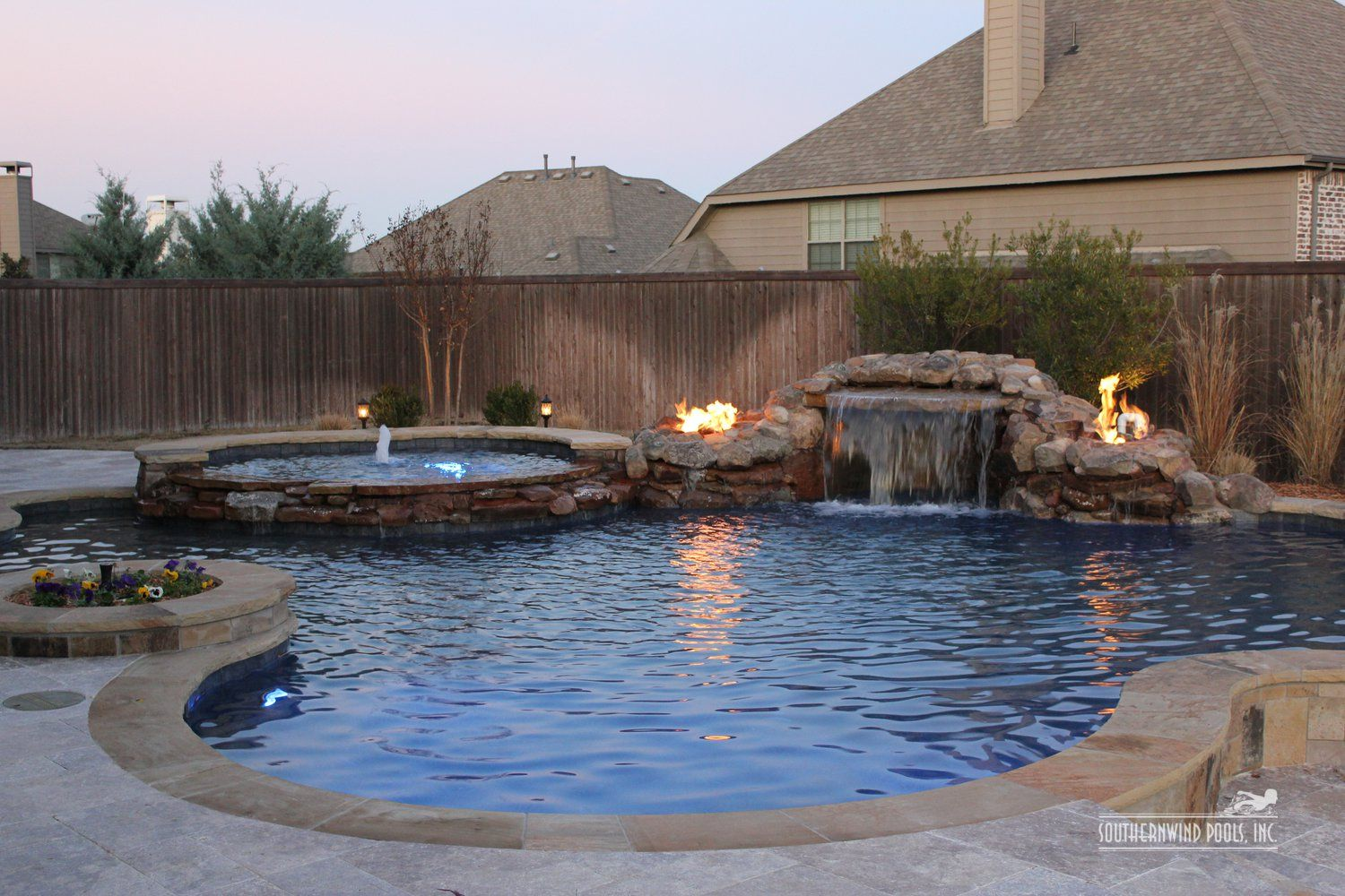 When Design Really Matters Sacramento Custom Pools Fire Pits WaterFalls  Grotto