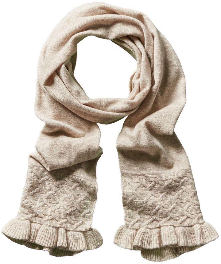 SmartBargains.com Forte Cashmere Stitch Ruffle Scarf | Products ...