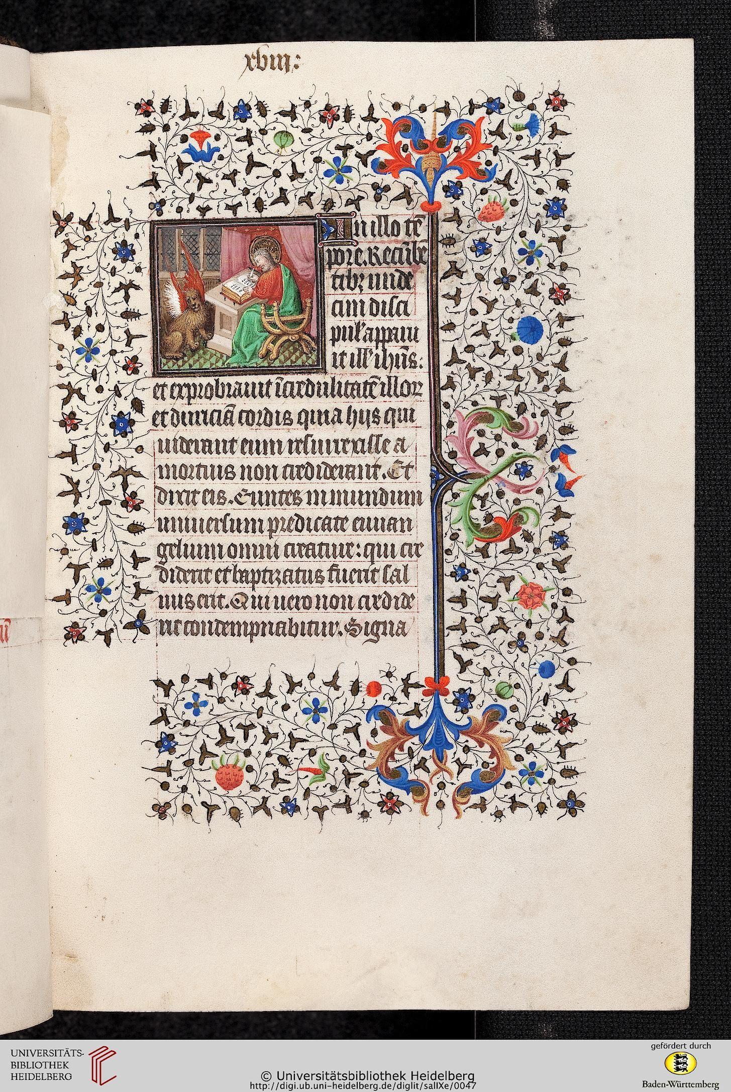 Cod. Sal. IXe: Cod. Sal. IXe Livre d'heures (Paris, 1420/30)