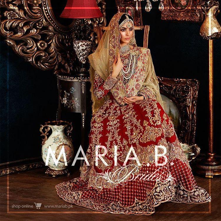 Pakistan Latest Bridal Dresses Collection 2018