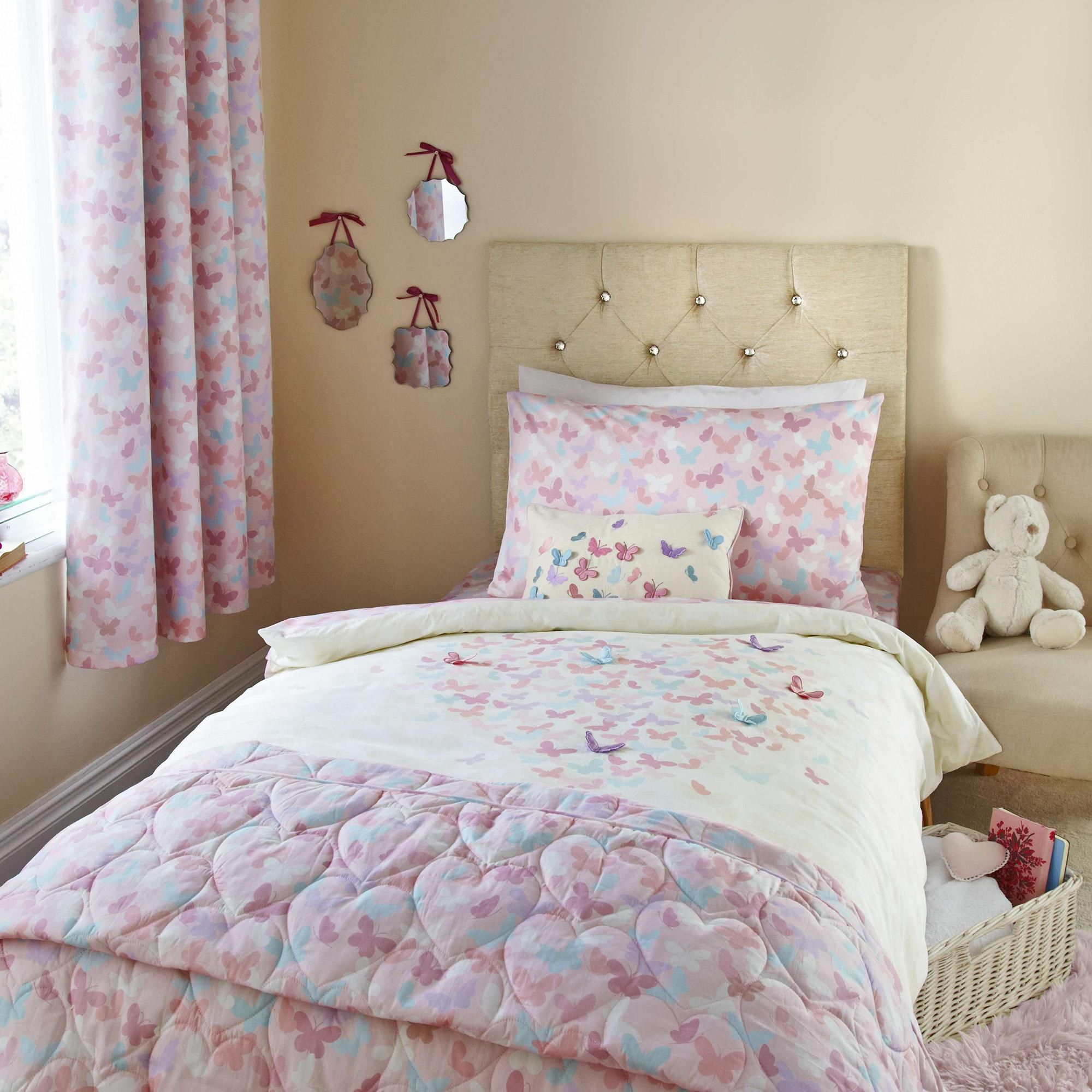 brushed covers next powder delivery product free duvet cotton day pink belledorm cover