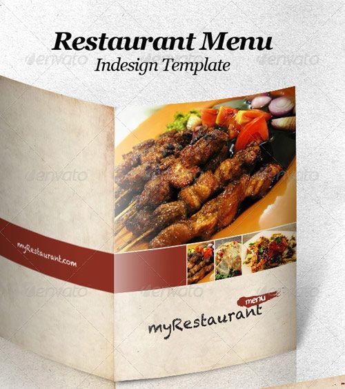 High Quality Restaurant Menu Design Templates  Indesign
