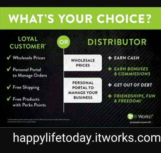 Want to be my loyal customer or become a distributor like me? Just let me know and I'll help you!!!