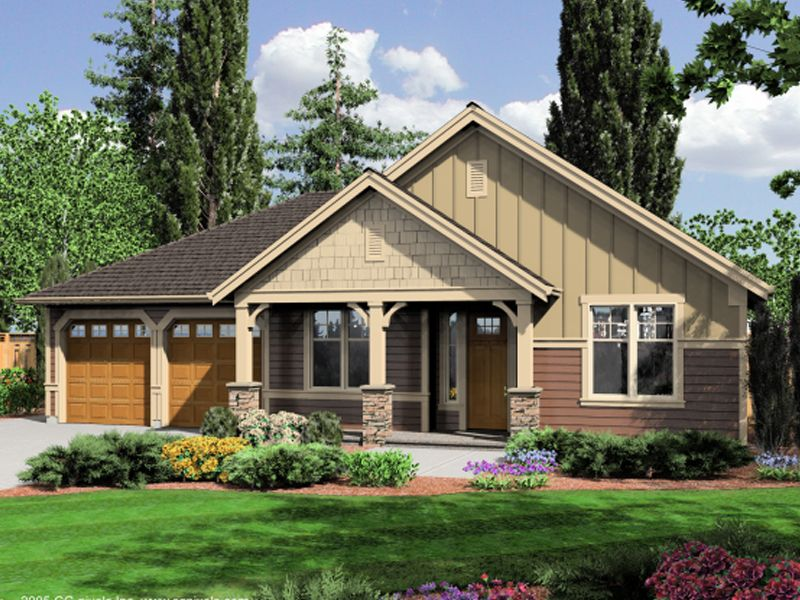Craftsman style house photos mulligan rustic craftsman for Craftsman house plans with front porch