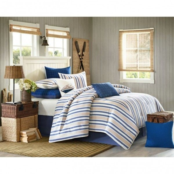 Woolrich Lakeside Comforter Set Blue With Images Comforter