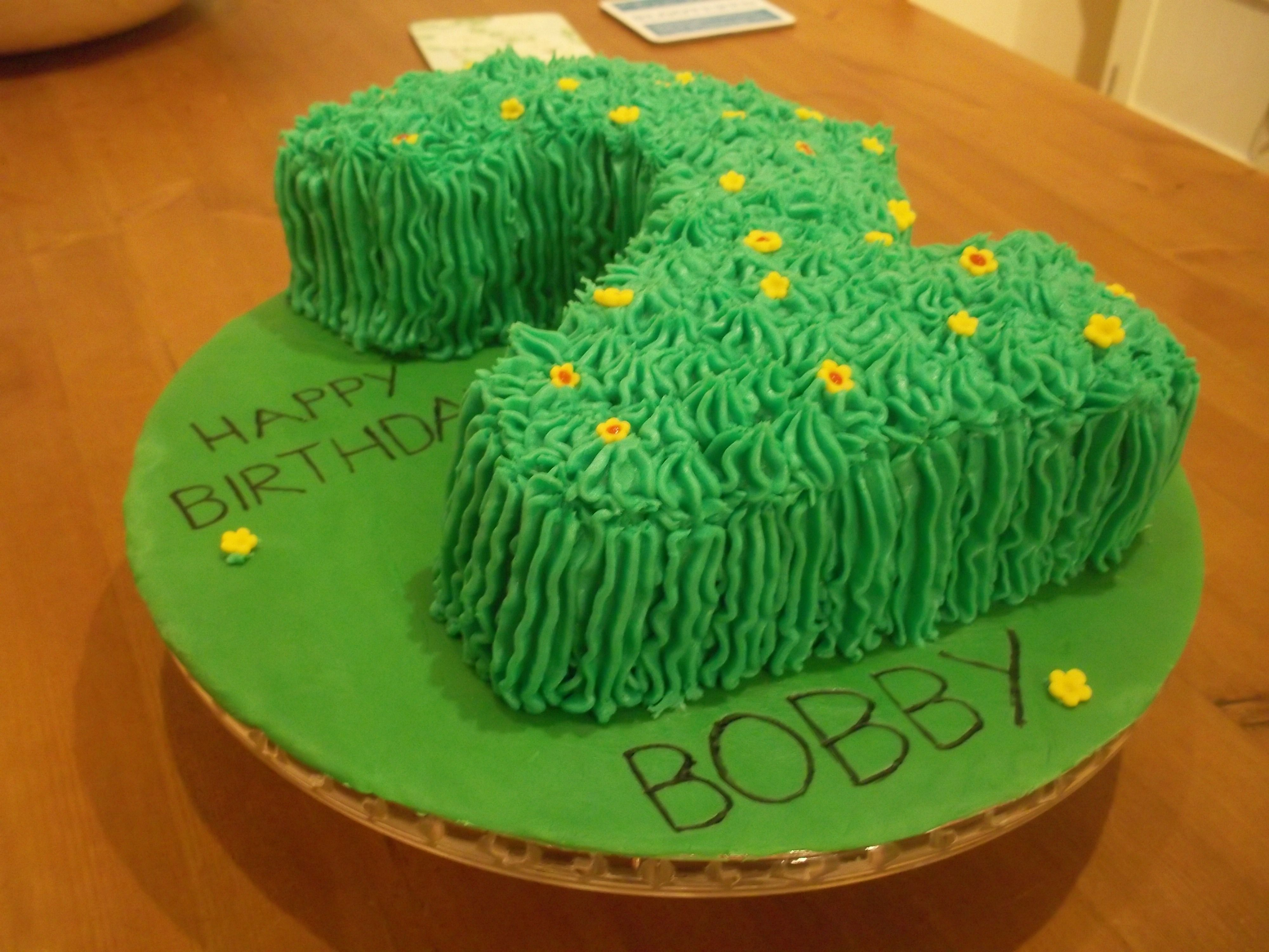 In the night garden\' birthday cake. The parents bought little ...
