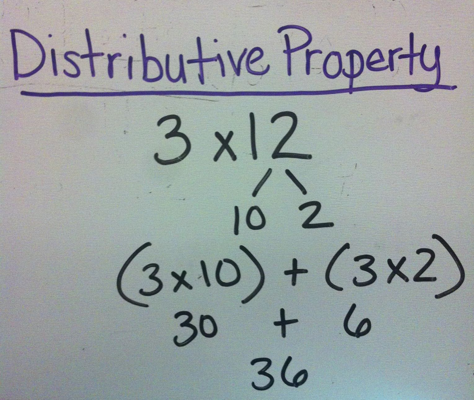 Helping Show Kiddos Distributive Property With Multiplication Using Expanded Form Distributive Property Teaching Math Distributive Property Of Multiplication [ 1289 x 1529 Pixel ]