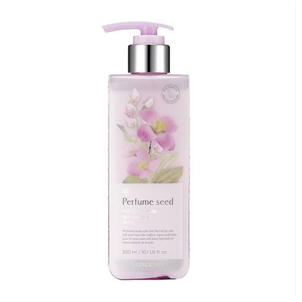 The Face Shop Perfume Seed Rich Body Milk 300ml | eBay Price:US $14.20 Description: Body milk in perfume seed scent. Visit: http://www.ebay.com/itm/The-face-shop-Perfume-Seed-Rich-Body-Milk-300ml-/231397287069?ssPageName=STRK:MESE:IT