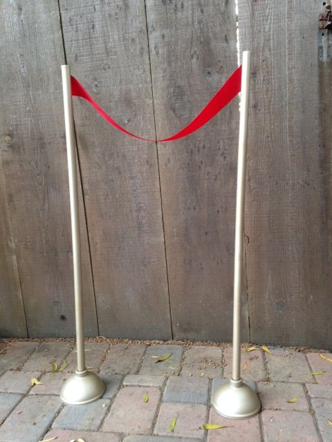 Diy Hollywood Movie Stanchion Movie Themed Party Hollywood Party Diy Hollywood Decorations