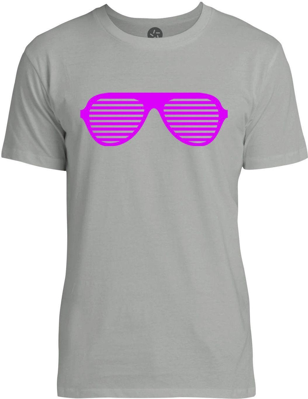 Raver Shades (Pink) Mens Fine Jersey T-Shirt