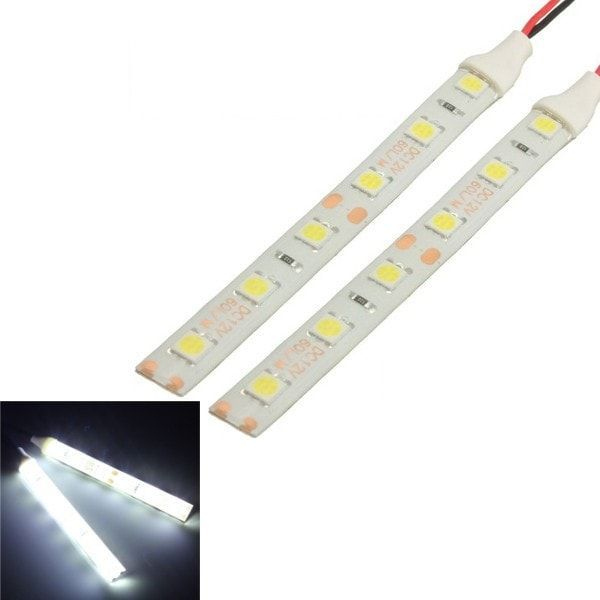 2pcs Waterproof Led Strip Lights 10cm 6 Led 5050 Flexible 12v For Motorcycle Boat 2pcs Waterproof Led Strip L Led Strip Lighting Strip Lighting Waterproof Led