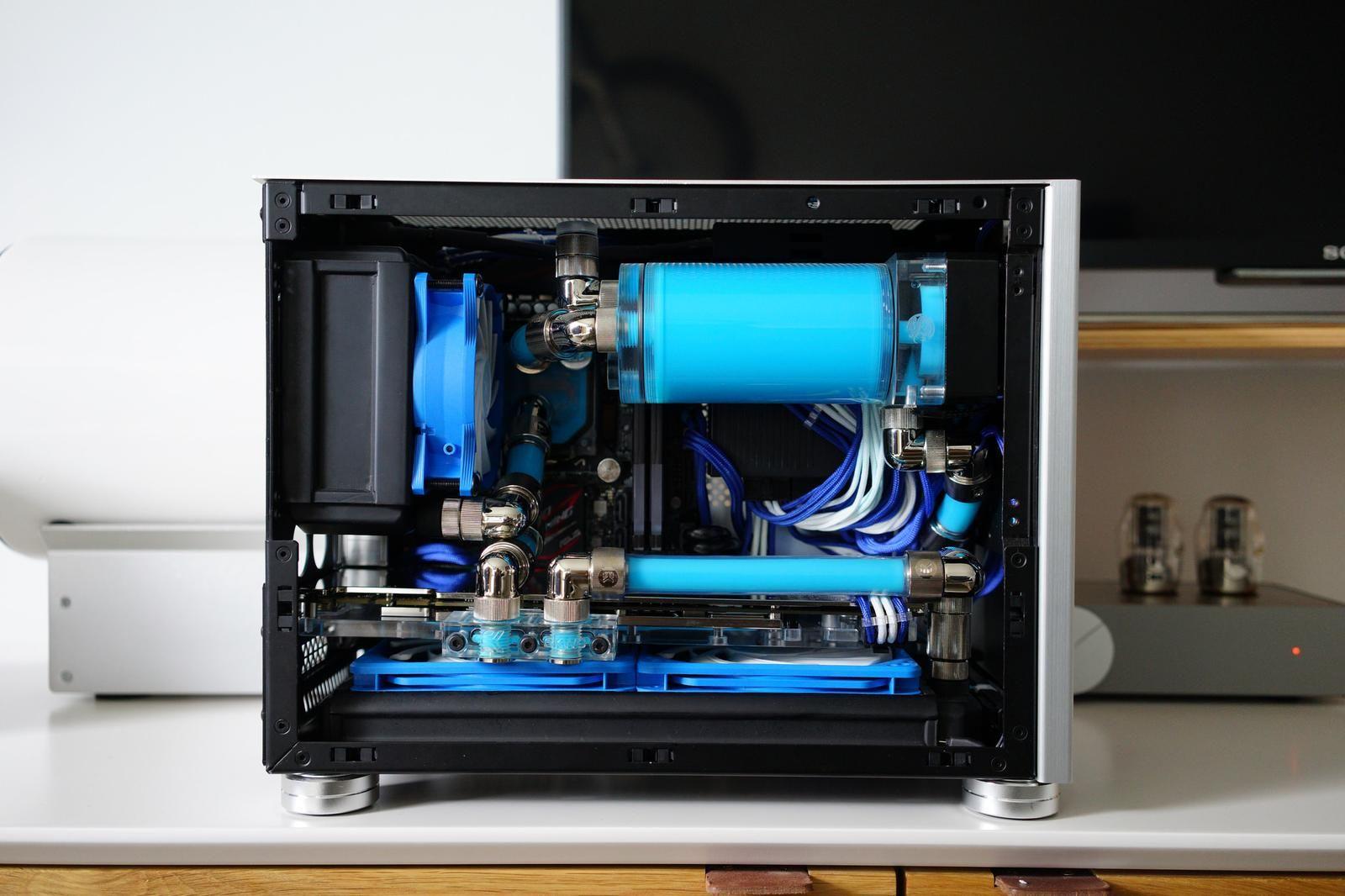 Beautiful Mini Itx Build Gehause Computer Technik