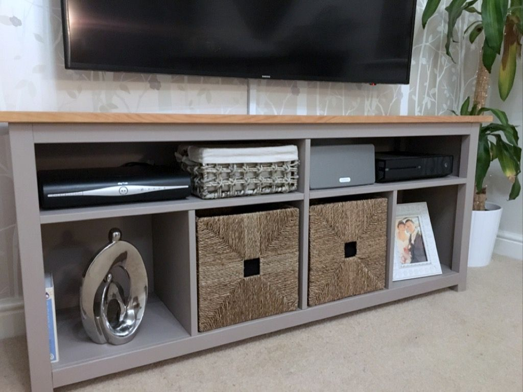 Hemnes Console Table Restyled To Tv Unit Ikea Hacks