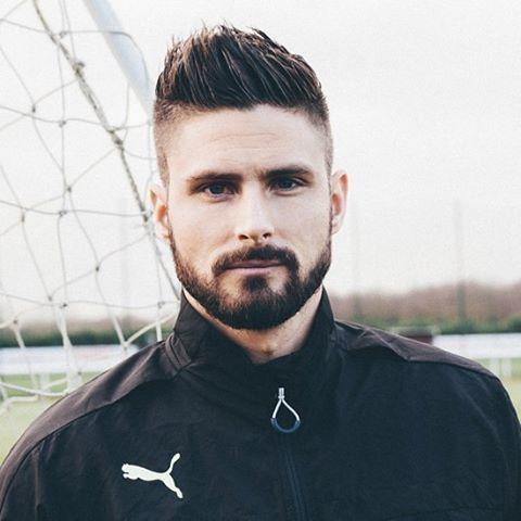Znalezione Obrazy Dla Zapytania Olivier Giroud Hairstyle With Beard