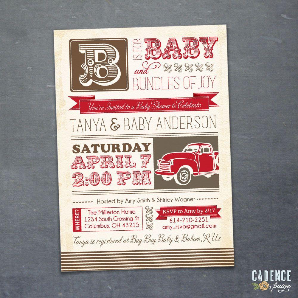Vintage themed baby shower invitations google search carter cash vintage themed baby shower invitations google search filmwisefo Image collections