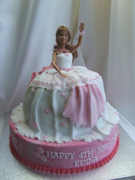 Birthday Cakes for Teen Girls 3D princess doll cake Cakes by