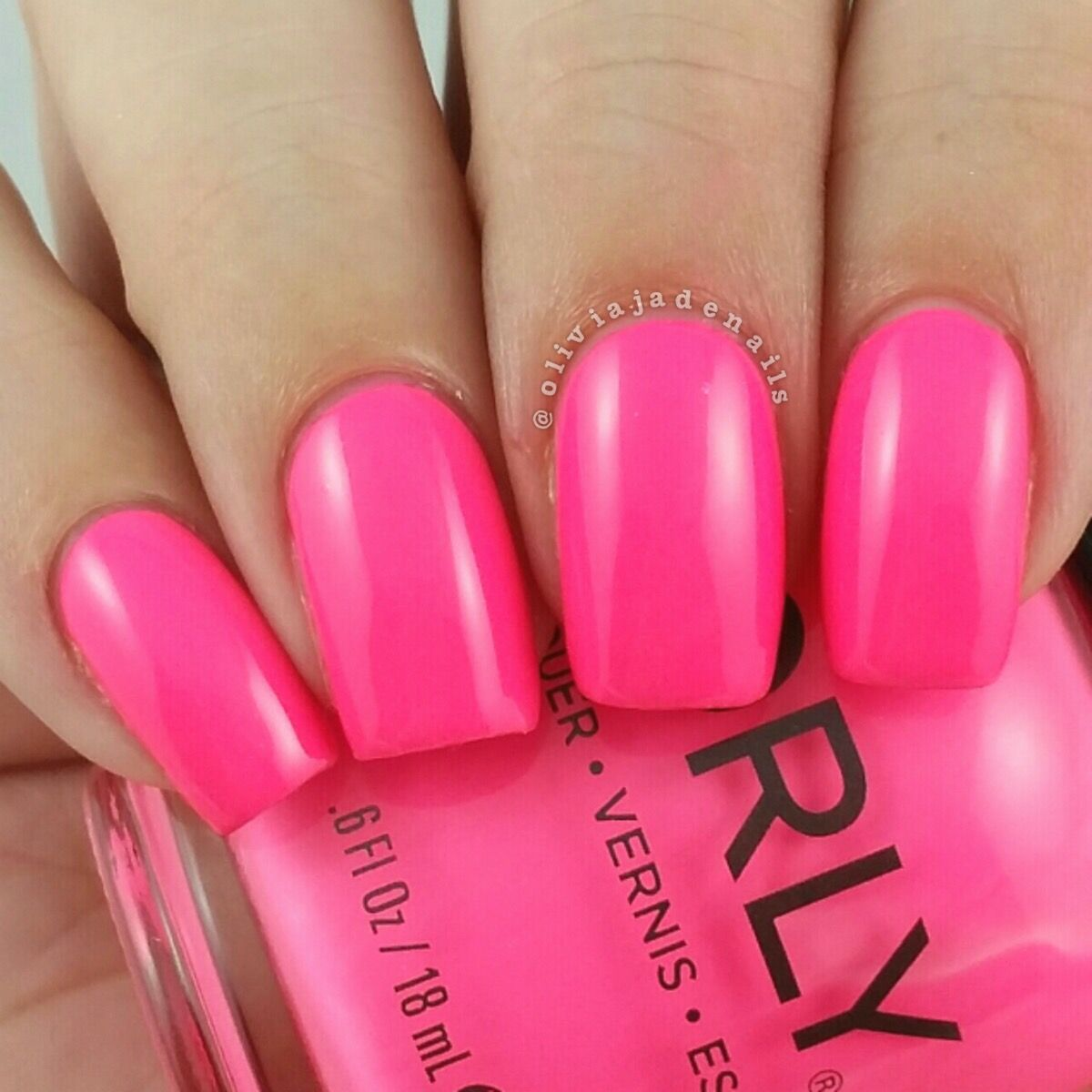 Orly Put The Top Down swatched by Olivia Jade Nails   NAILS   Pinterest
