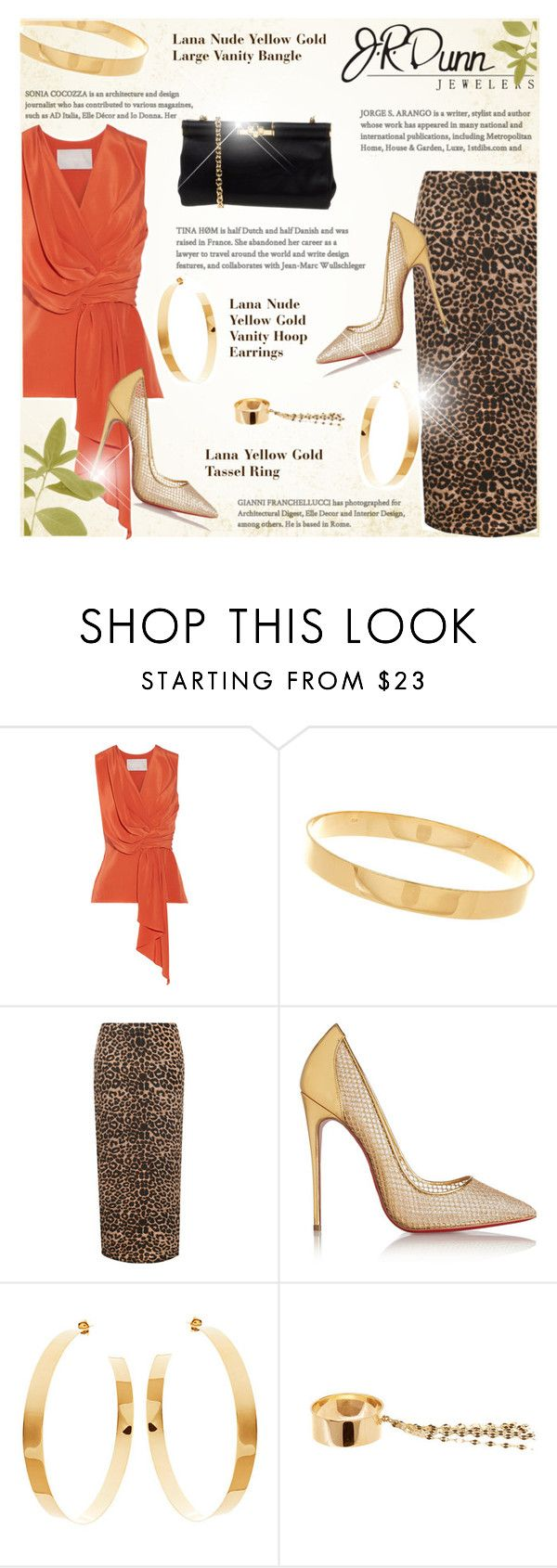 """JRDunn.com"" by monazor ❤ liked on Polyvore featuring Dunn, Jason Wu, Lana, WearAll, Christian Louboutin and Dolce&Gabbana"
