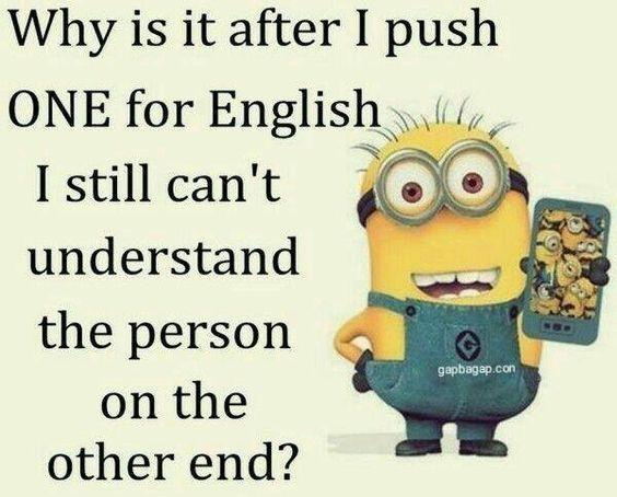 Funny Minion Joke About English | Minions | Pinterest ...
