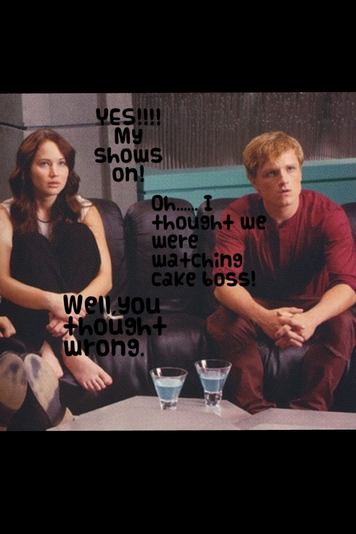 Hehe katniss and peeta after 5 years of marriage | Hunger ...