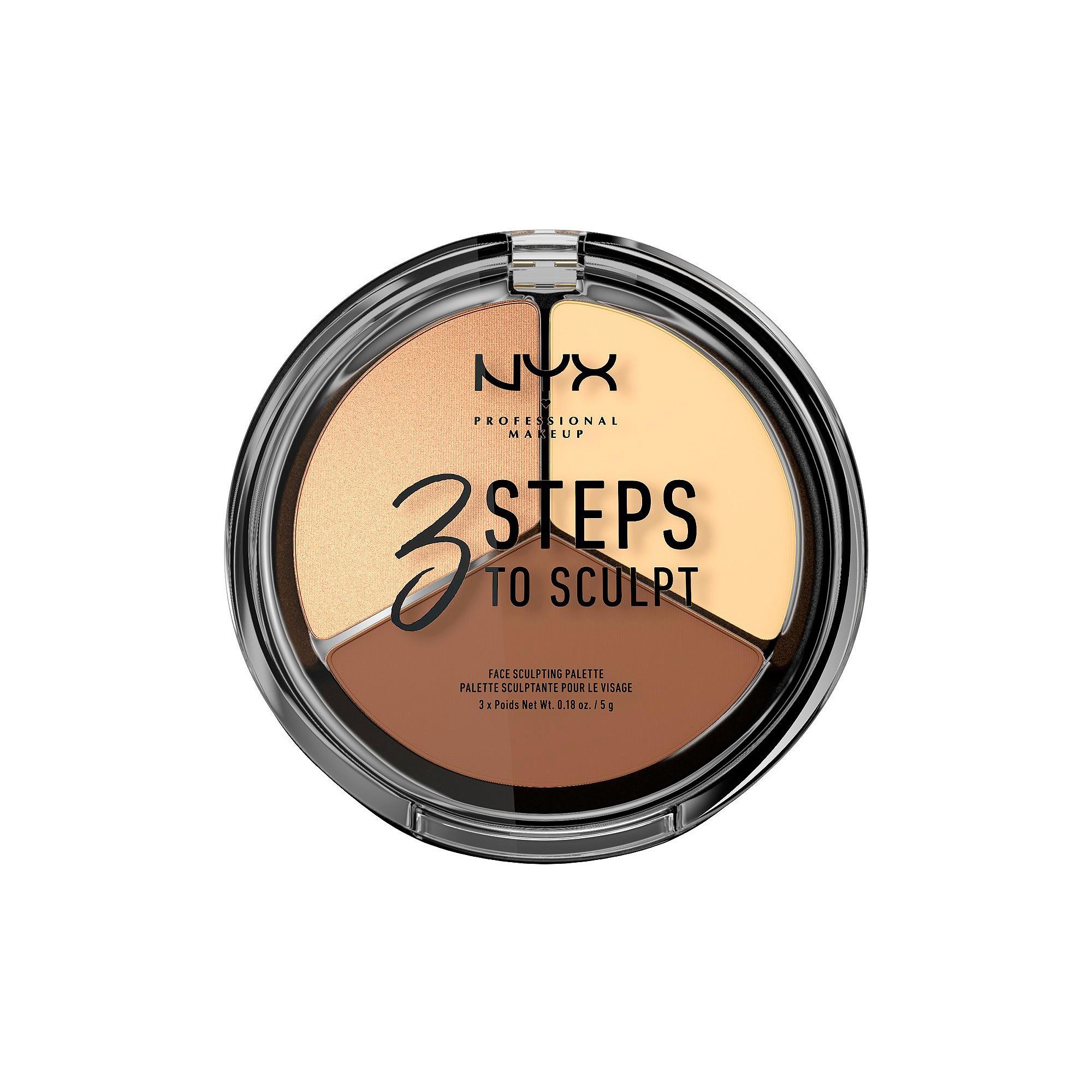NYX Professional Makeup 3 Steps to Sculpt Face Sculpting