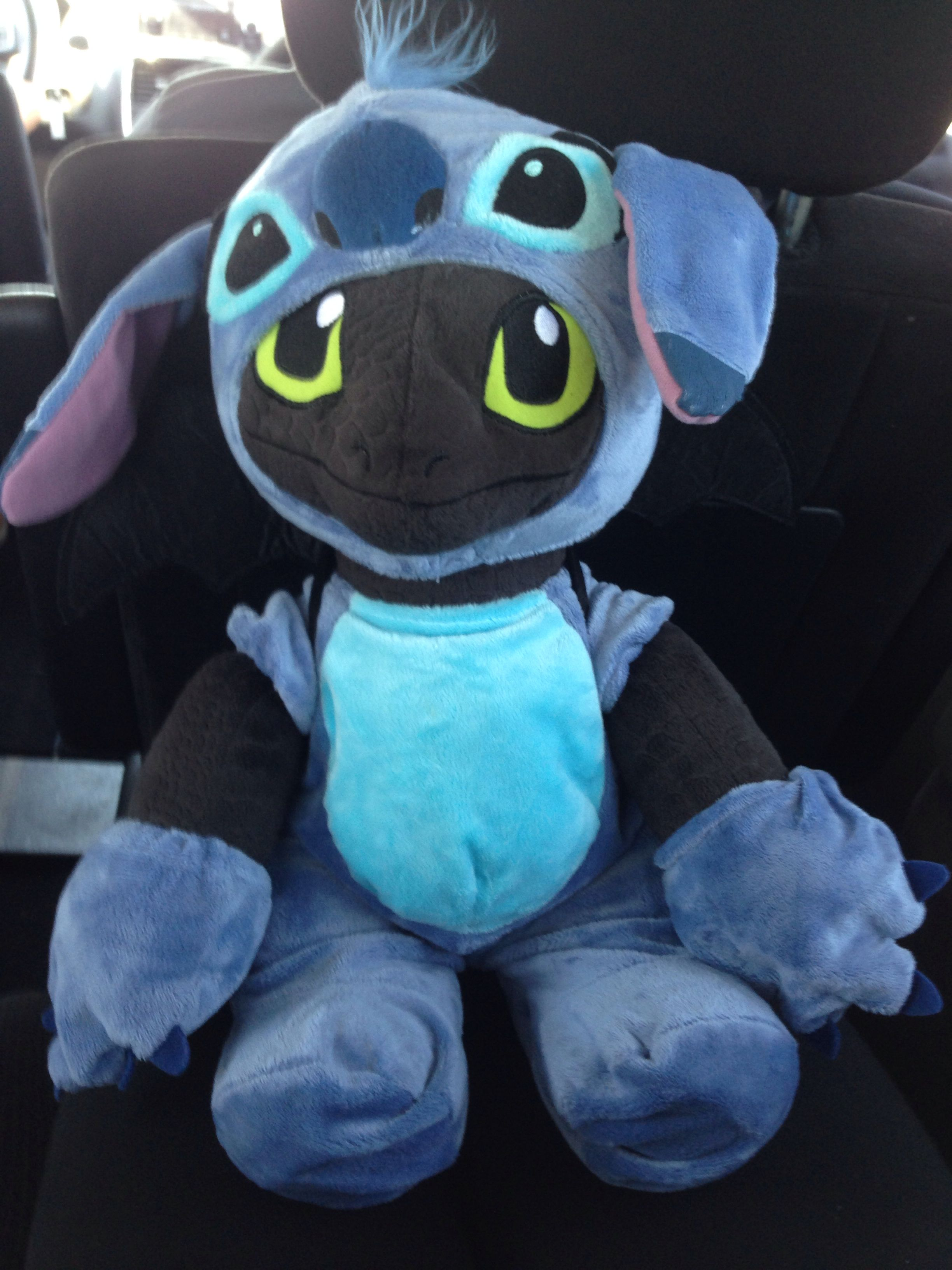 Toothless In A Stitch Costume Cutest Thing Ever