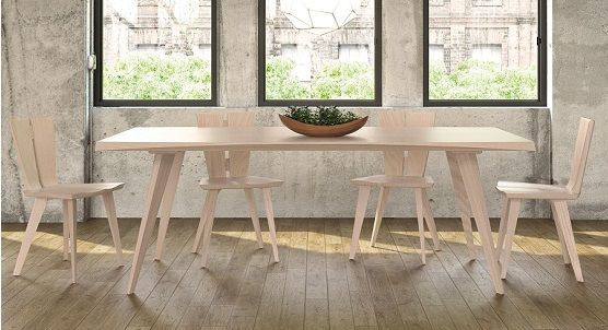 Axis Extension Dining Collection, Ash | Ambiente Modern Furniture