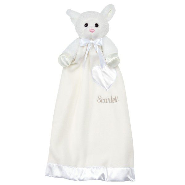 Lamb blankie ivory personalized gift ideas for new baby lamb blankie ivory personalized gift ideas for new baby negle Choice Image