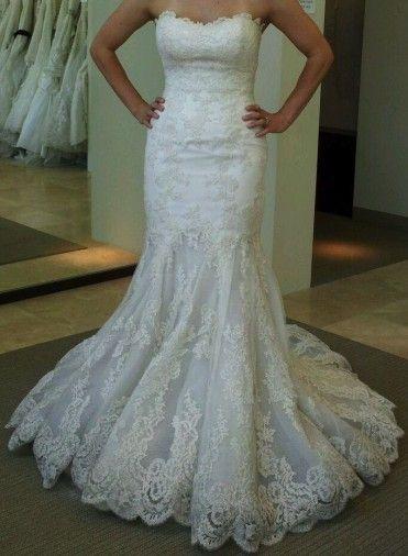 Enzoani Dakota Size 2 Wedding Dress | Wedding dress, Weddings and ...