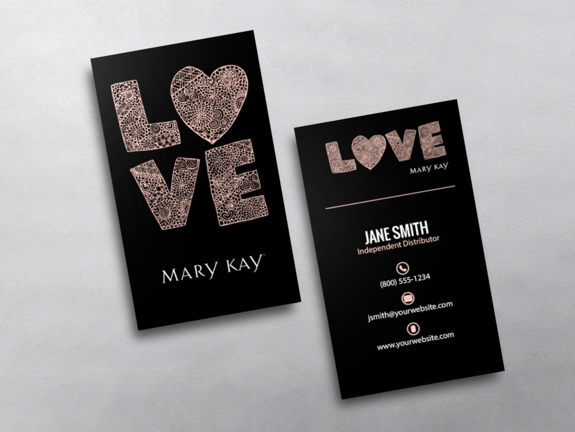 Mary Kay Business Cards | Pinterest | Beauty consultant and Mary kay