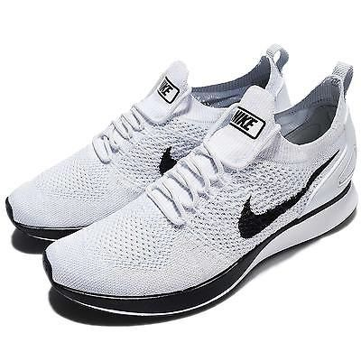 24785908b190 Nike Air Zoom Mariah Flyknit Racer Pure Platinum Men Running Shoes 918264- 002