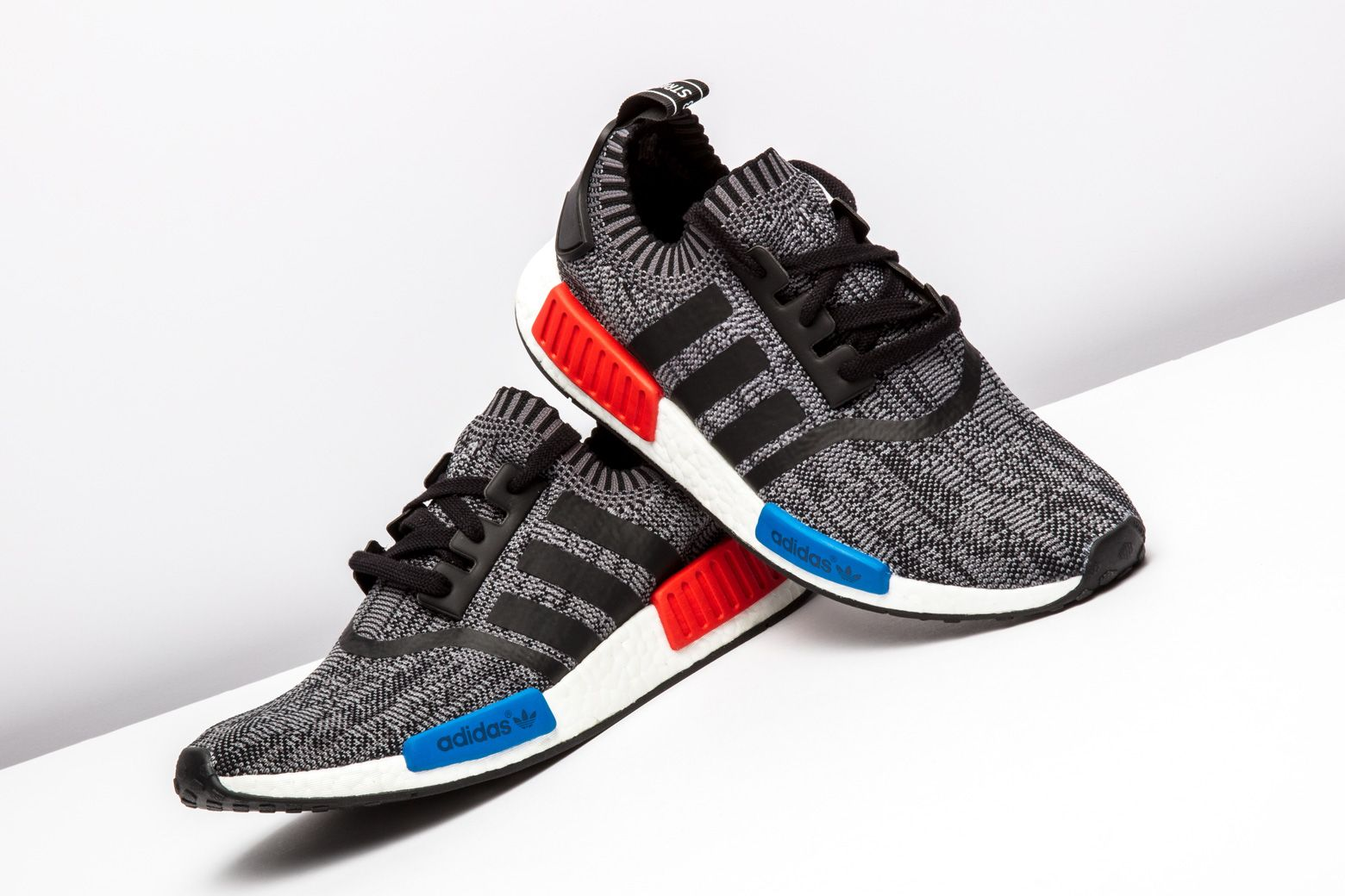 21a9973deb6f4 Adidas NMD R1 PK Core Blue Red  FRIENDS AND FAMILY