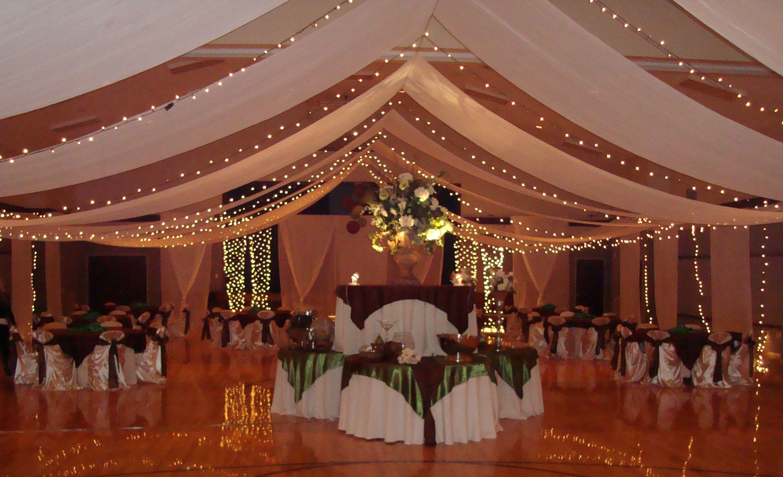 Chocolate Brown And Avocado Green Wedding Wedding Hall