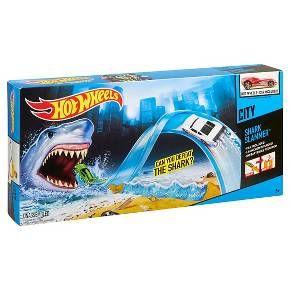 Hot Wheels Shark Slammer Track Set : Target