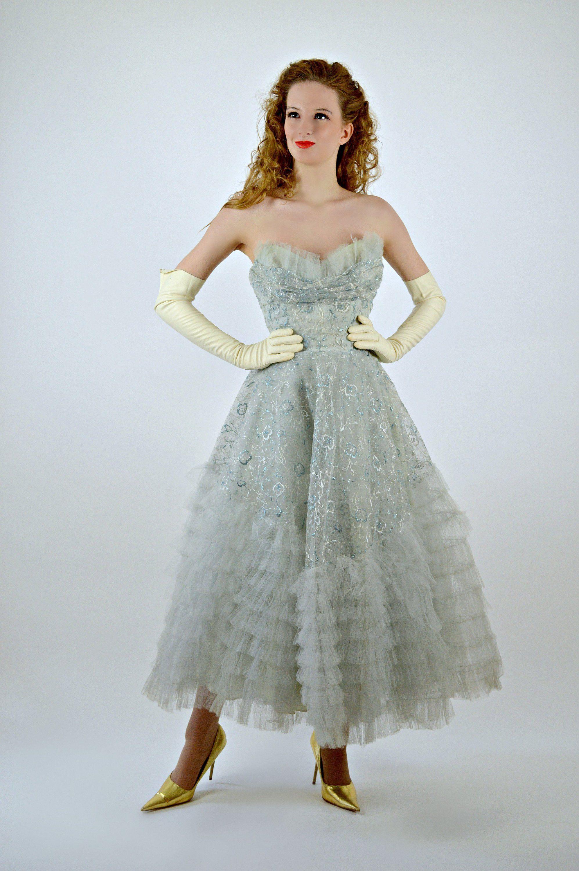 Xtabay Vintage Clothing Boutique Portland Oregon Prom Dresses Vintage Vintage Dresses 1950s Prom Dress [ 1600 x 1011 Pixel ]