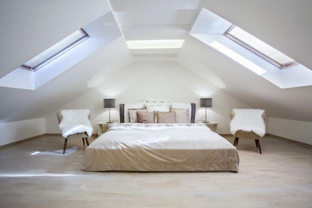 Suite Parentale Sous Les Toits | Chambre // Bedroom | Pinterest