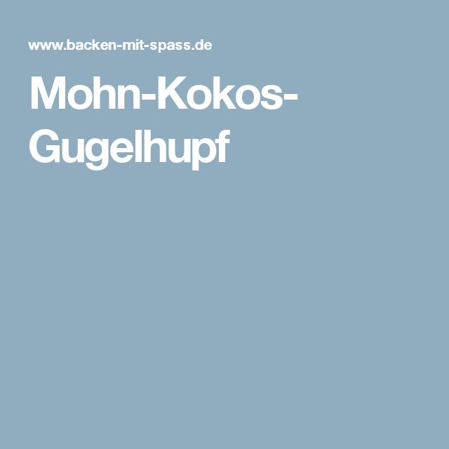 Mohn-Kokos- Gugelhupf